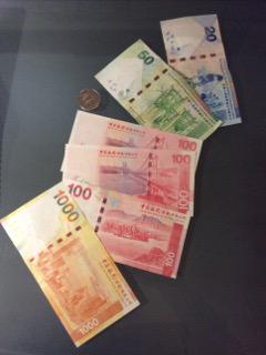 紙幣の裏側