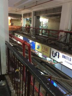 重慶大厦の内部