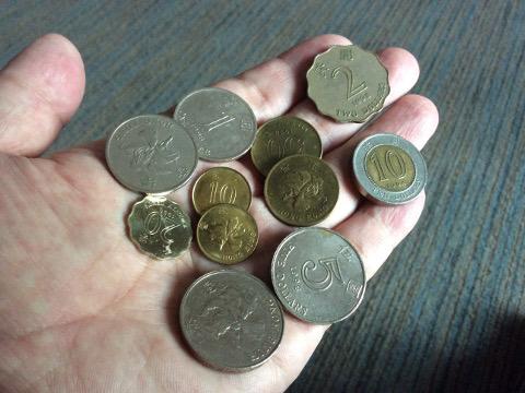 香港のコイン