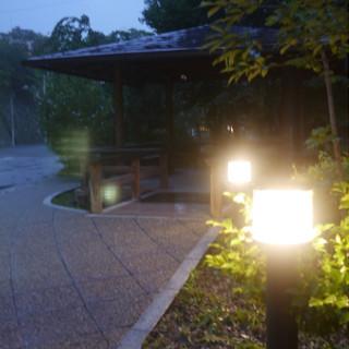 伊香保の街灯