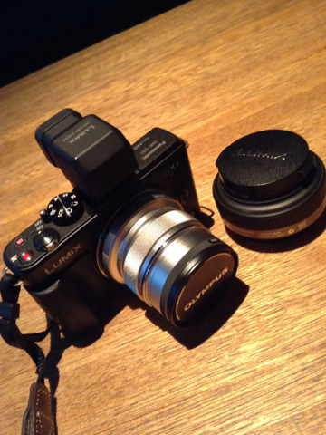 Lumix GX1と広角レンズ