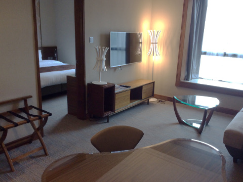 香港珀麗酒店の部屋