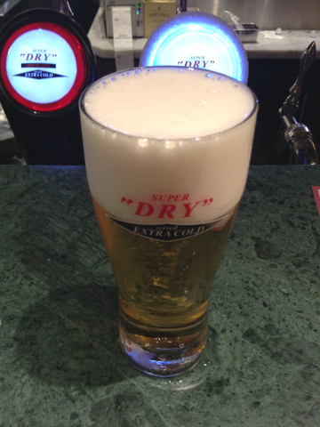 品川駅で飲んだエクストラコールド