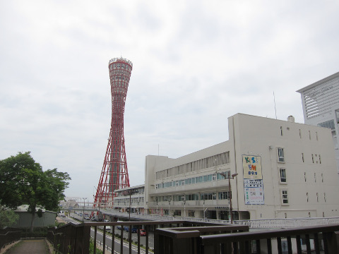 ポートタワーとKISS FM