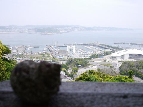 鎌倉方面の景色