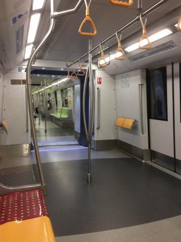 MRT車内