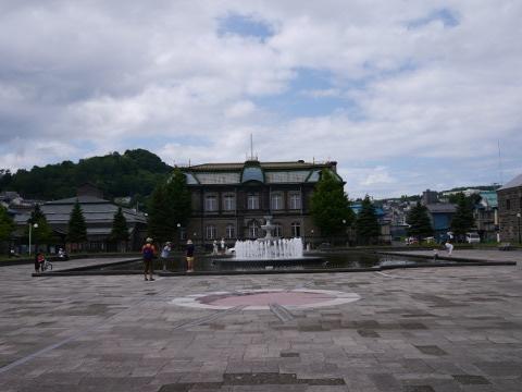 重要文化財の旧日本郵船小樽支店