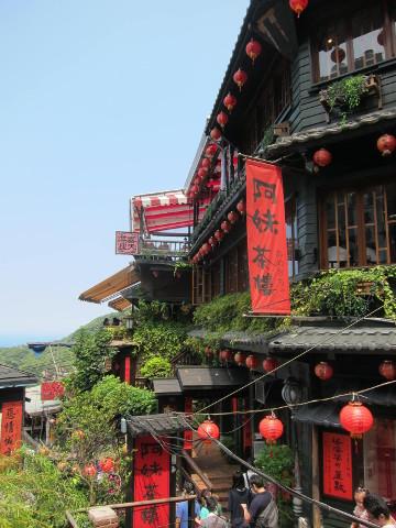 昼間の阿妹茶酒館