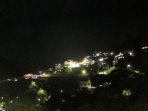 夜の九份遠景