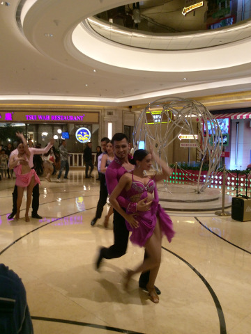 Dance in Galaxy Macau