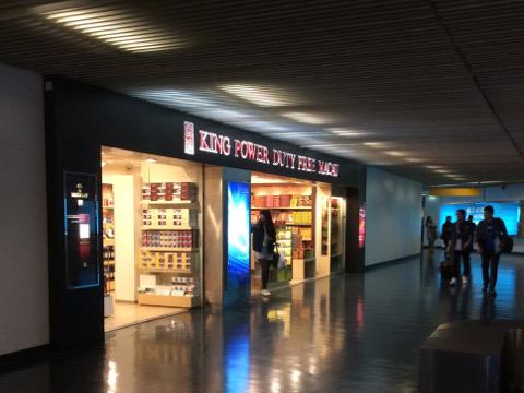 フェリーターミナルの免税店
