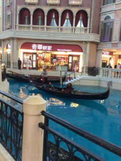 Gondolra in The Venetian Macau