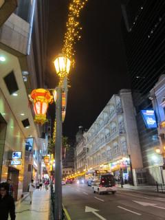 マカオ夜散歩