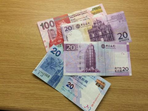 マカオパタカと香港ドル