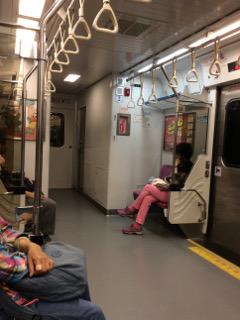 台湾鉄道車内
