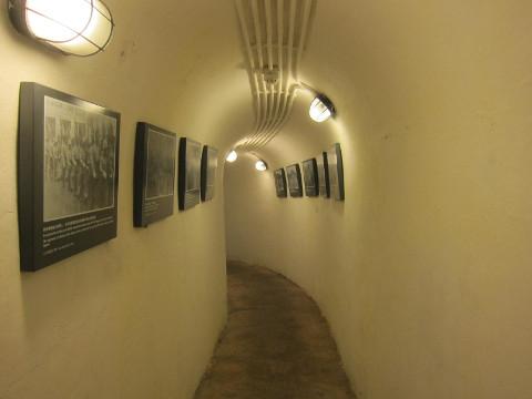 松山軍用隧道内部