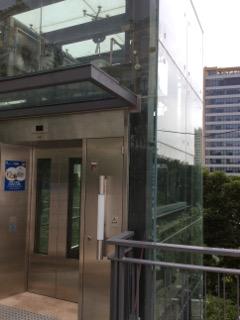 近道のエレベーター