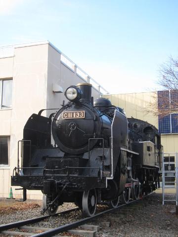 蒸気機関車展示