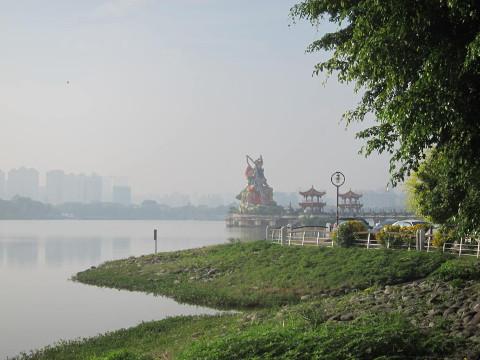 北極元帝廟遠景