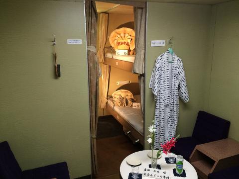 八甲田丸の寝台