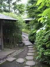 茶室への小径