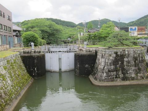 琵琶湖疏水、大津制水門