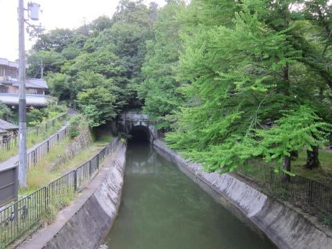 御陵の琵琶湖疏水