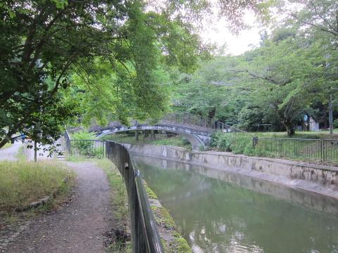 琵琶湖疏水に架かる日本最初のコンクリート橋
