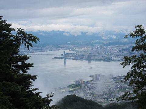 比叡山からの眺め