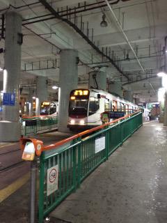 ライトレールターミナル駅