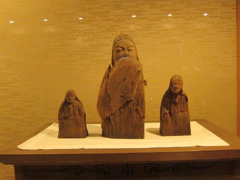 平安時代の女神像