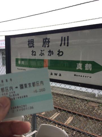 東海道線の根府川駅で途中下車