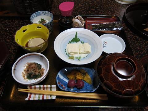 山本坊朝食