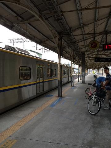 台湾鉄道の輪行客