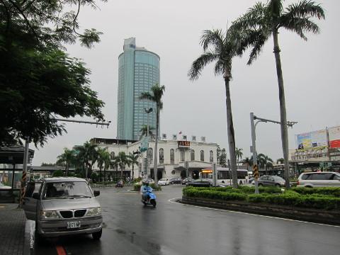 台湾鉄道の台南駅舎