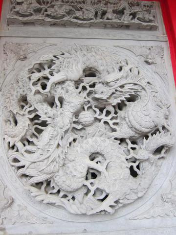 明徳宮の石細工