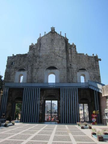 聖ポール天主堂跡裏側
