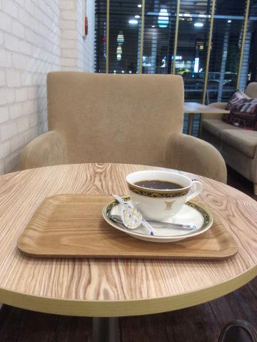 cafe de villeでコーヒータイム