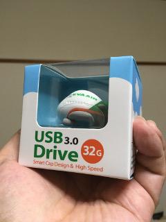 エバー航空USBメモリ