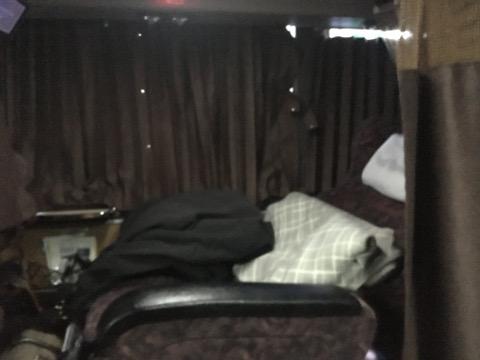 高速バス車内