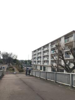 多摩の住宅地