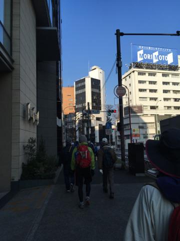 恵比寿の街なかを歩く
