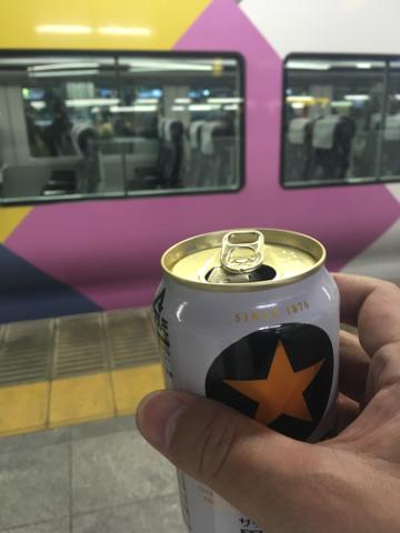 新宿駅で飲む