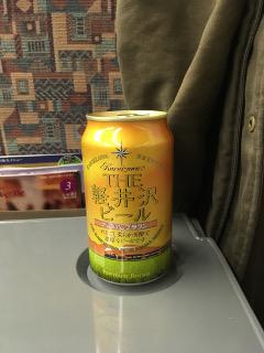 新幹線で飲む