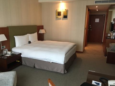台中港酒店のダブルルーム