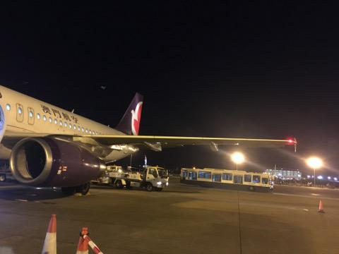マカオ航空機体