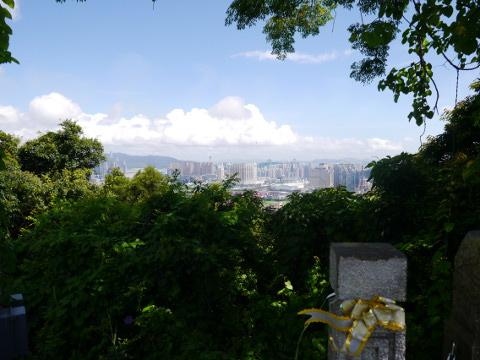 路環山からの眺め