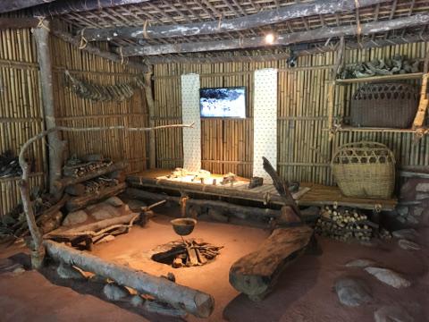 布洛湾の住居