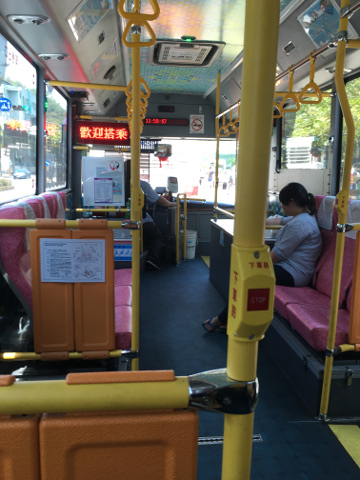 蘇澳の電動バス