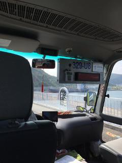 蘇澳駅行きのバス